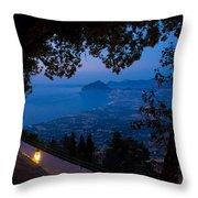 Sicilian Dusk Throw Pillow