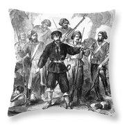 Sicily: Guerrillas, 1860 Throw Pillow