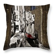 Sicily Meets Venice Throw Pillow