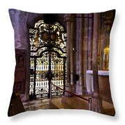 Side Chapel St Stephens - Vienna Throw Pillow