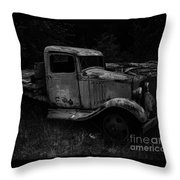 Side View Of A Classic Throw Pillow