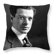 Sidney Hillman (1887-1946) Throw Pillow