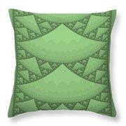 Sierpinski Composition Throw Pillow