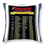 Sign Of Champions Throw Pillow
