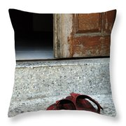 Sign Of Respect Throw Pillow