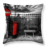 Sign Sealed Delivered Throw Pillow