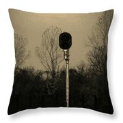 Signal Throw Pillow