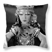 Silent Film Still: Costume Throw Pillow
