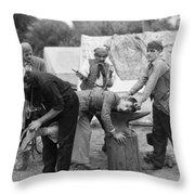 Silent Film Still: Gypsies Throw Pillow