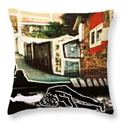 silent place Nr.1 Throw Pillow