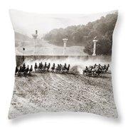 Silent Still: Chariot Throw Pillow