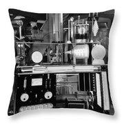 Silent Still: Laboratories Throw Pillow