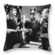 Silent Still: Uniforms Throw Pillow