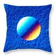 Silicon Crystal Throw Pillow