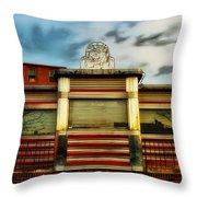 Silk City Lounge Throw Pillow
