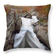 Silken Water Tent Throw Pillow