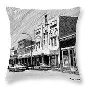 Silver City New Mexico Throw Pillow