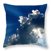 Silver Lining I Throw Pillow