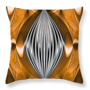Silver Marquise Engagement Throw Pillow