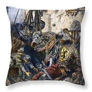 Simon De Montfort Throw Pillow