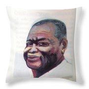 Simon Kimbangu Throw Pillow