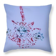 Simple Cat Color Throw Pillow