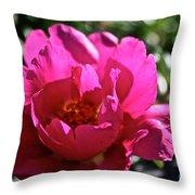 Simple Rose Throw Pillow