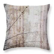 Simple Things Abstract Throw Pillow