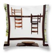Simpler Times Throw Pillow by Stephanie Frey