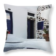 Simplicity Of Design Throw Pillow