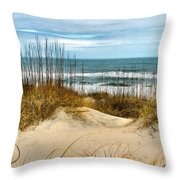 Simply The Beach Throw Pillow