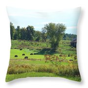 Simply Vermont Throw Pillow