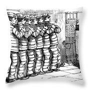 Sing Sing Prison, 1878 Throw Pillow by Granger