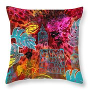Singing For Freedom - Dancing For Joy Throw Pillow