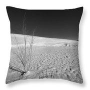 Single Bush 1 Throw Pillow