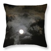Sinister Skies Throw Pillow