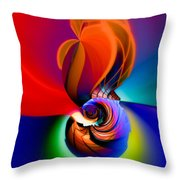 Siphonophoric Colony Throw Pillow
