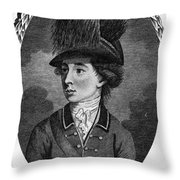 Sir Banastre Tarleton Throw Pillow