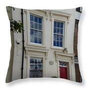 Sir Christopher Wren's Home Throw Pillow