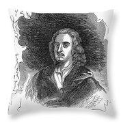Sir Henry Vane (1613-1662) Throw Pillow