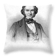 Sir Joseph Paxton Throw Pillow