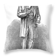 Sir Rowland Hill (1795-1879) Throw Pillow by Granger