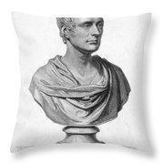 Sir Thomas S. Raffles Throw Pillow