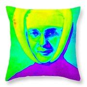 Sister Marguerite Denise 1953 Throw Pillow
