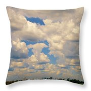 Sittin On The Dock Of The Bay Throw Pillow