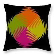 Six Squared Zigzag Throw Pillow