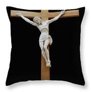 Sjncc Crucifix 1 Two K Eleven Throw Pillow