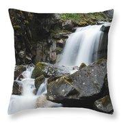 Skagway Waterfall 8619 Throw Pillow