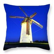 Skerries Windmill, Co Dublin, Ireland Throw Pillow