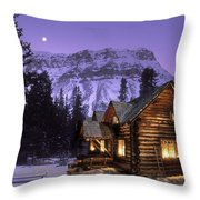 Skoki Cabin Throw Pillow